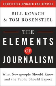 """The Element of Journalism"""