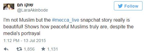 @LaraAkinbode, mecca_live