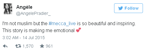 @AngelePradier_, #mecca_live